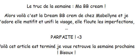 Top 3 de mes vernis Nude + Ma BB Cream ! :)