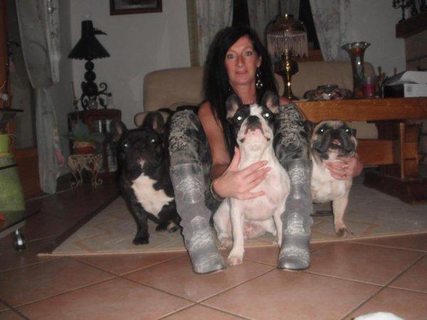 une de mes passions ........... mes chiens  <3