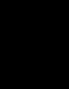 Zoom sur une brindille dans une forêt virtuelle