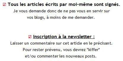 Présentation & Newsletter ...