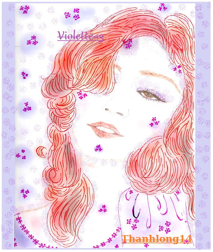 ***Bonne semaine *** Mes ami(e)s ;D*** <3 Mon doux ange : Violette <3