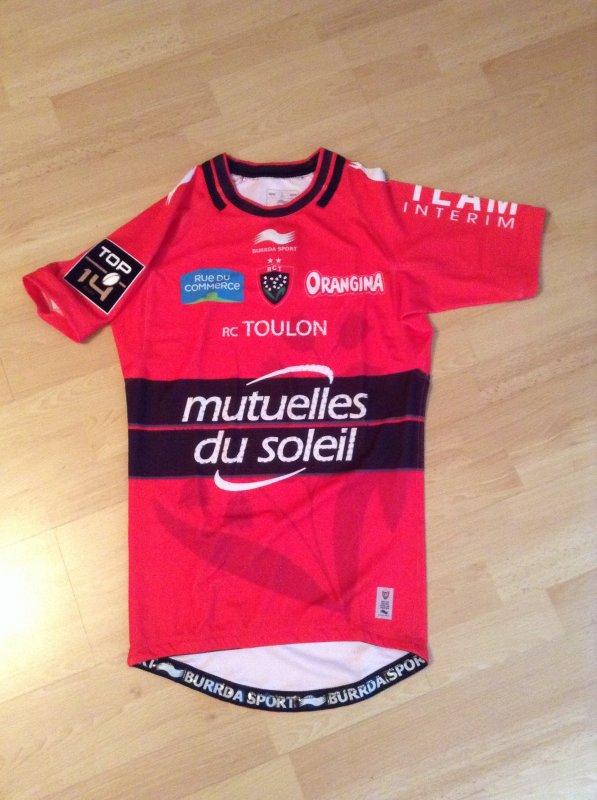 Maillot de match rct saison 2014/2015