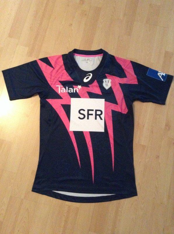 Maillot rugby match stok pro stade français