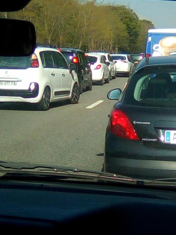 Vive les autoroutes blindées... -_-