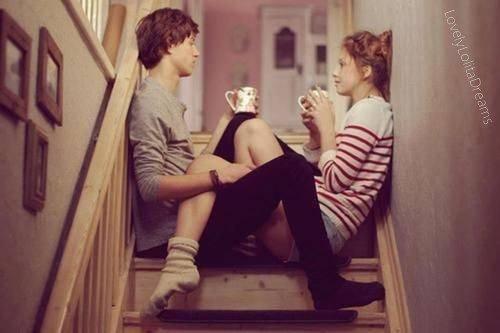 """Ils ont raison quand ils disent: """"L'amour rend aveugle."""" †"""
