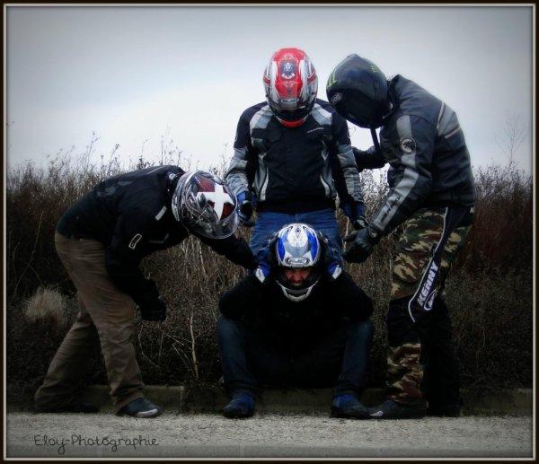 La solidarité des motards!