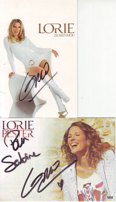 deux dédicaces de Lorie
