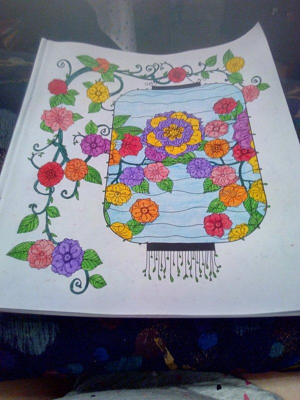Mes coloriages réalisés