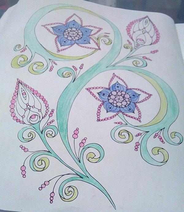 Coloriages réalisés