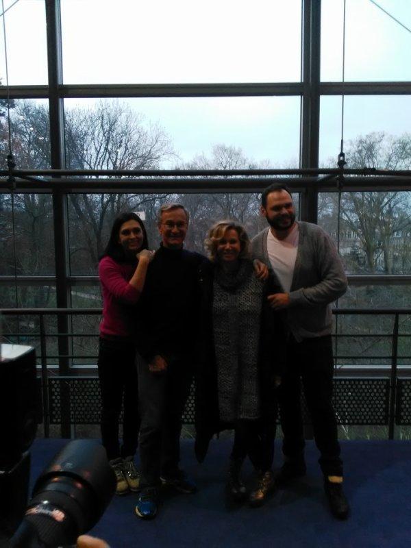 4 comédiens rencontrés  à Reims