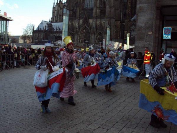 KÖLN . . . . Ha ja, Immer und deine Parade Karnaval