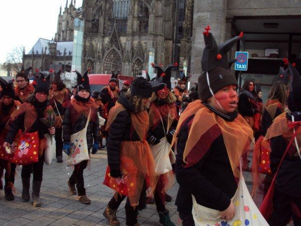 KÖLN . . . . und deine Parade Karnaval 3