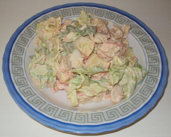 Humour de Lapin & Salade