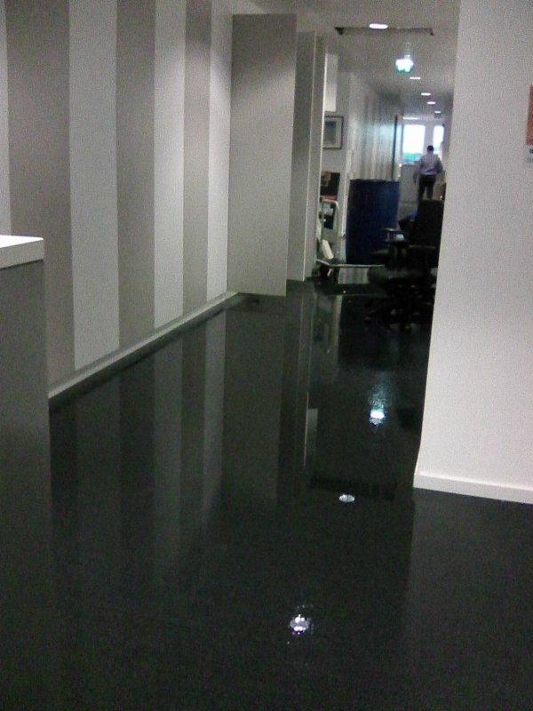 Innondation au boulot
