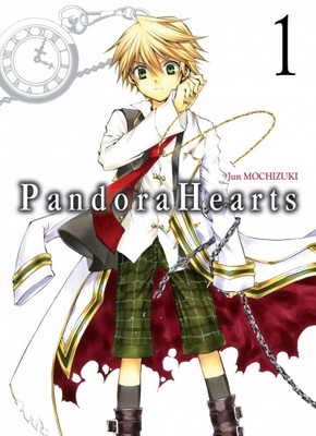 VRAC MANGAS N°o3 - Pandora Hearts - Switch Girl - Fairy Tail