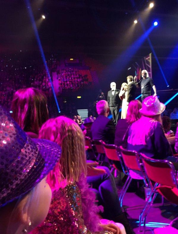På Melodifestivalen i Scandinavium