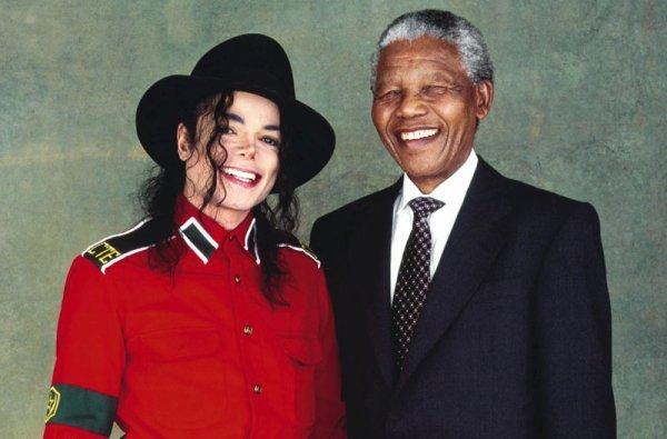 Nelson Mandela & Michael, deux héros de la lutte contre le racisme et la discrimination
