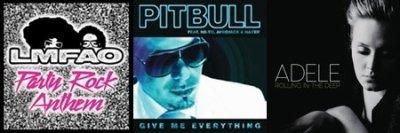 Top Single Australie ( 7 Juin 2011 )