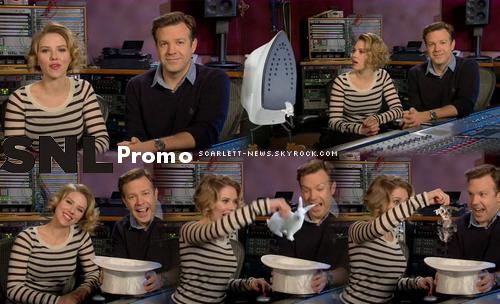 Late Night + photoshoot avec Robert Downey Jr + SNL promo