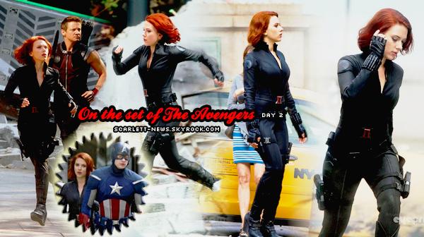 The Avengers : tournage extérieur + poster + We bought a zoo + Bonnie and Clyde + politique