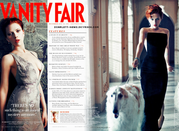 Vanity Fair (suite) + We bought a zoo (poster et bande annonce) + Under the skin
