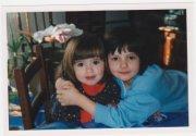 moi avec ma soeur