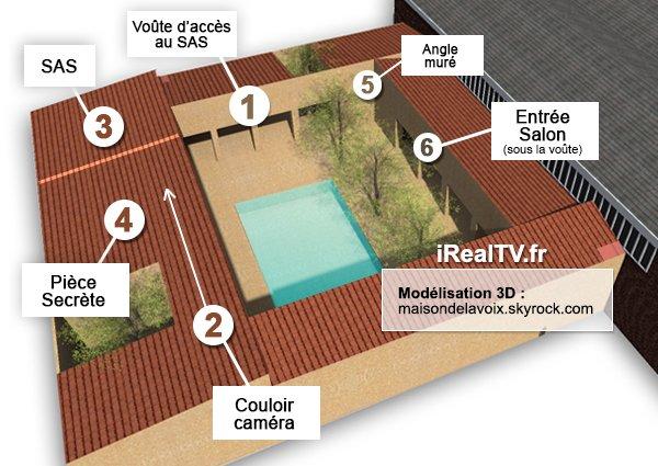 plan maison avec jardin interieur exclu secret story 7 le retour des chambres lintrieur voici - Plan Maison Avec Jardin Interieur