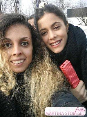 Tini et ses fans a Bologne