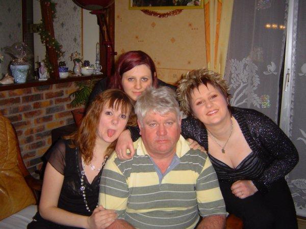 papa moi et mai soeurs
