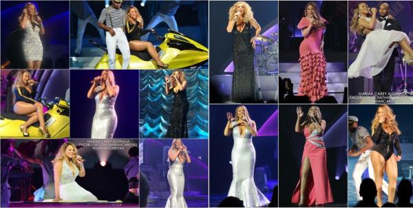 "Mariah news ""Concert Caesar Palace + Perfomance live Infinity"""