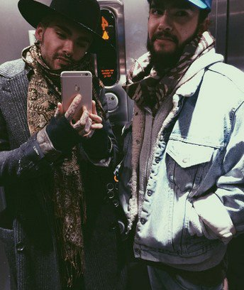 Instagram Bill Kaulitz - 05.01.2015