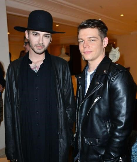 Bill & Georg au Prof. Jochen Blume Vernissage - Berlin (Allemagne) - 13.01.2016