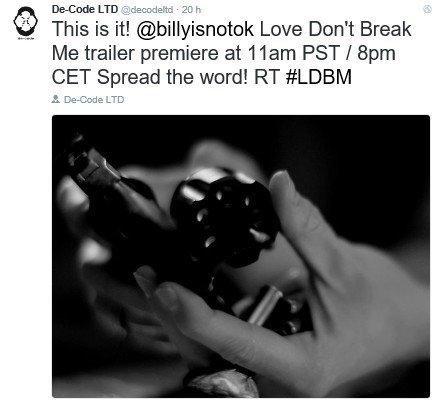 Info Twitter De-Code LTD - 22.04.2016
