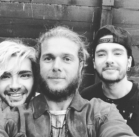 Bill & Tom avec Gianluca Fellini (photographe)
