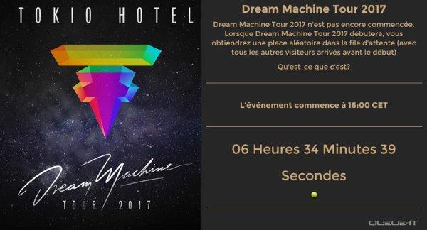 Tokio Hotel - Dream Machine Tour 2017