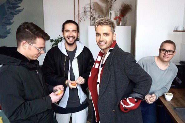Instagram Tokio Hotel - 09.01.2017