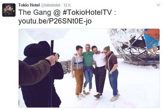 Info Twitter Tokio Hotel - 17.02.2017