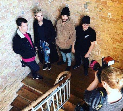 Tokio Hotel - Photoshoot par Britta Pedersen - Berlin (Allemagne) - 21.02.2017