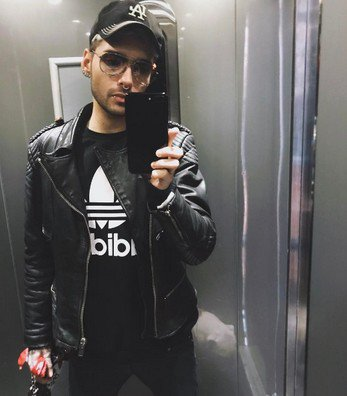 Instagram Bill Kaulitz - 10/11.03.2017