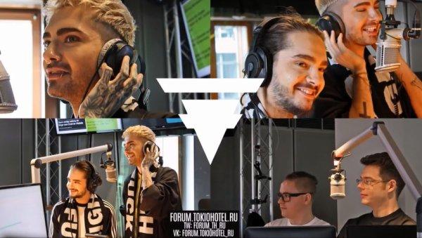 Radio N-JOY – Interview avec Tokio Hotel - Hambourg (Allemagne) - 15-03-17