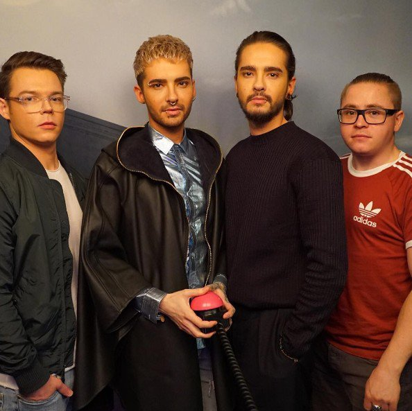 Tokio Hotel - Interview 1LIVE - Backstage - Cologne (Allemagne) - 24.03.2017