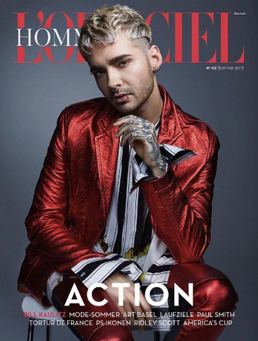 Instagram Tokio Hotel - 07/08.06.2017