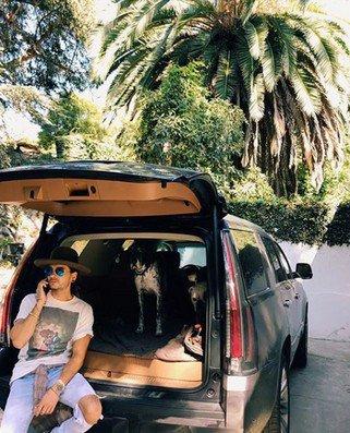 Instagram Bill Kaulitz - 14/15.08.2017