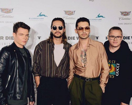 Instagram Tokio Hotel - 05/06.10.2017