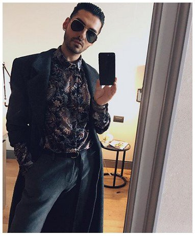 Instagram Bill Kaulitz - 12.11.2017