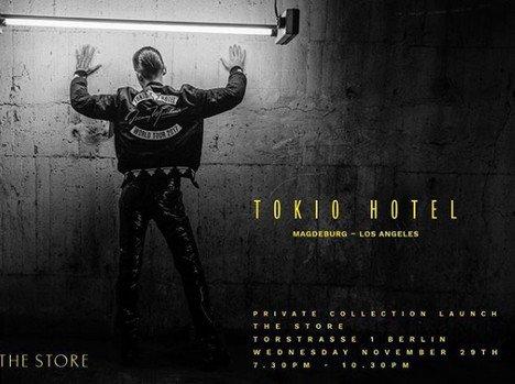 Instagram Tokio Hotel - 29/30.11.2017