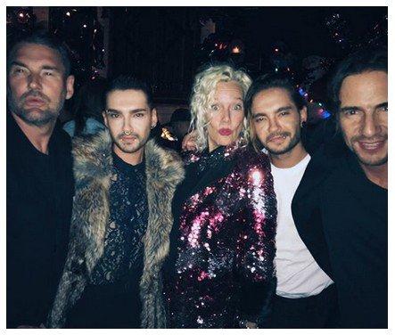 Instagram Bill Kaulitz - 14/15/16/17.12.2017