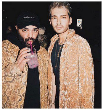 Instagram Bill Kaulitz - 21/23/25/27.02.2018