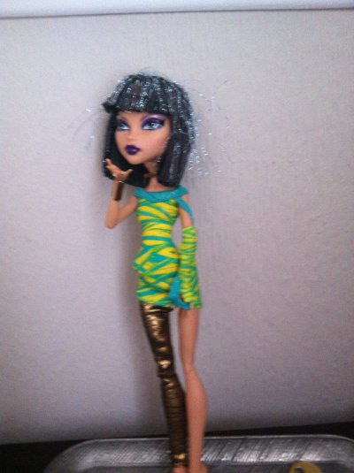 présentation de ma monster high