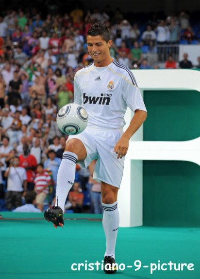 c ronaldo the best real
